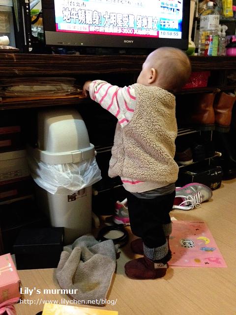每天都要進行「把家裡東西都拿出來一輪」的巡田水動作。