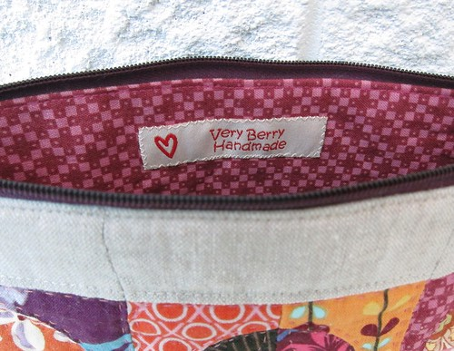 New label in my Mouthy Stitches pouch
