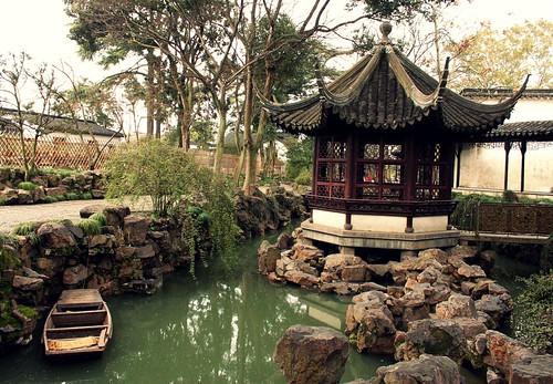 Boats and pagodas