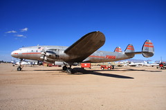 N90831 TWA Lockheed L-049 Constellation