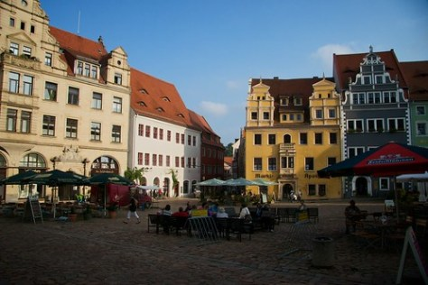 Mei�en main square, Germany