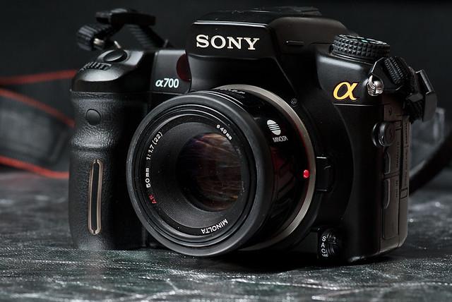 Sony A700 + Minolta 50 mm f/1.7