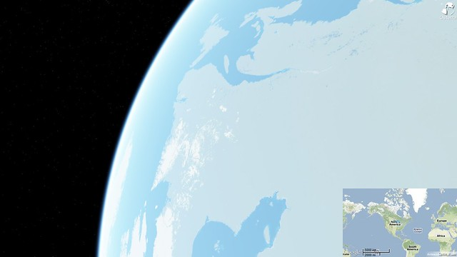 Anteworld from space