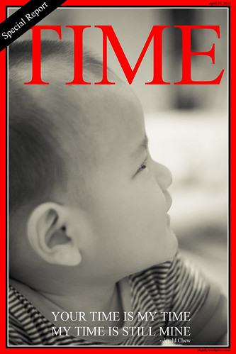 My Nephew - Time Magazine by SkyStrike