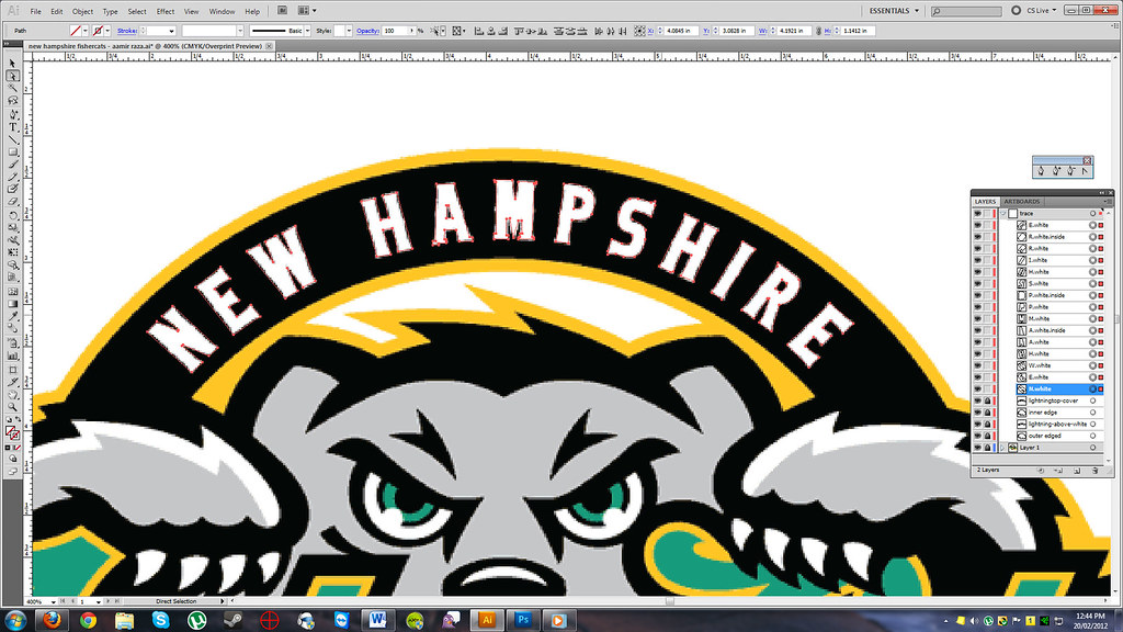 Tracing New Hampshire