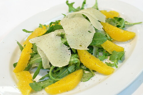 Orange, Fennel, Arugula & Pecorino Salad