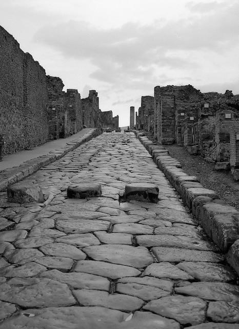 Pompeii on a rainy November day, 2011