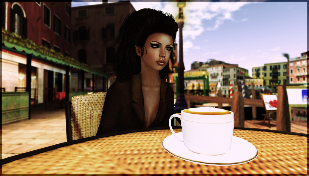 Coffee in Venice, Second Life
