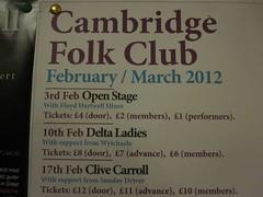 Cambridge Folk Club