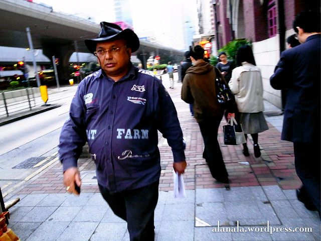 Cowboy in Hong Kong