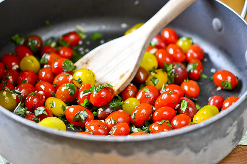 Garlic Herb Tomatoes 9
