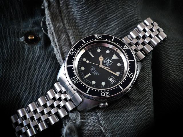 Tag heuer deep dive 1000m heuerville - Heuer dive watch ...