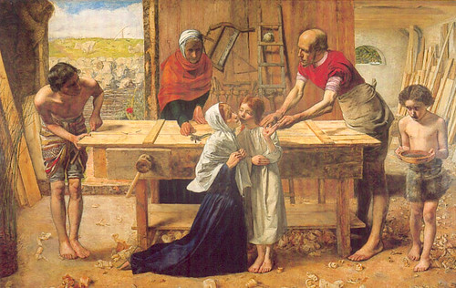 John Everett Millais, Le Christ dans la maison de ses parents