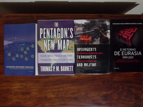 Los libros de febrero de 2012.