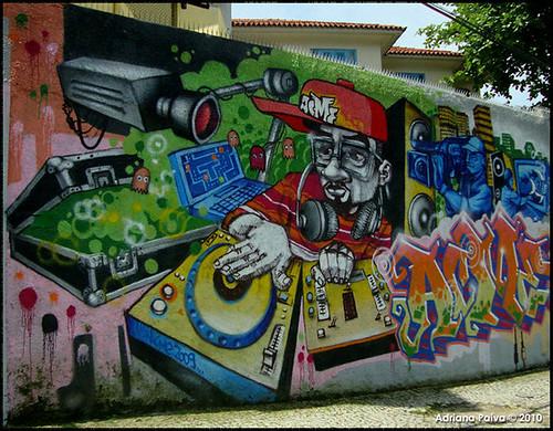 Graffiti em Botafogo