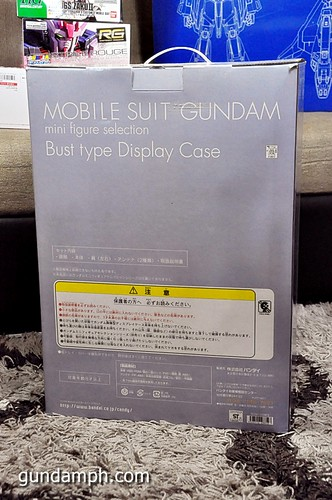 MSG RX-78-2 Bust Type Display Case (Mobile Suit Gundam) (6)