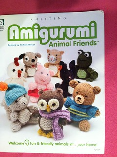 Amigurumi Animal Friends Pattern Book Front