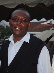 James Gachanja, ILRI lab technician
