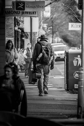 Street Musician by Terry Schmidbauer