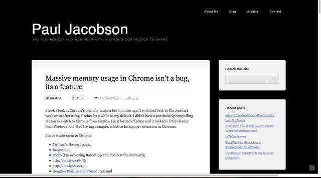 Paul Jacobson's Hub - Firefox 11 stable