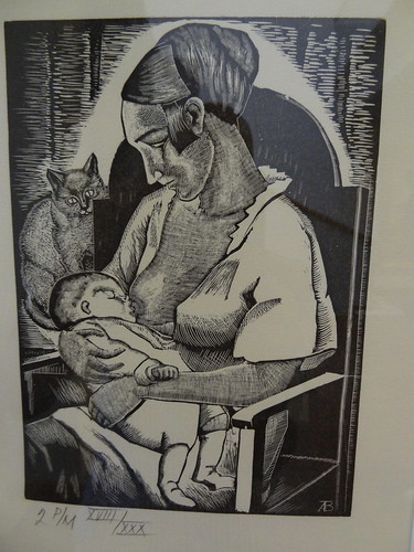 Maternity, by Angelina Beloff (1920).
