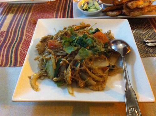 Roberta's Birthday Dinner 2012 007 Pad Thai
