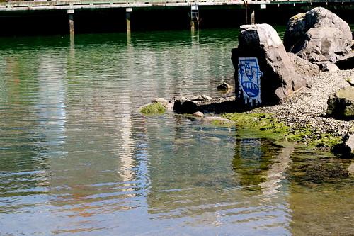 Saturday: Graffiti by the Lagoon