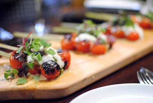 tomatoes burrata