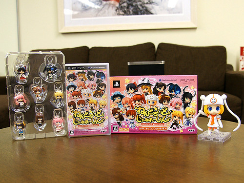 The limited edition with 8 Nendoroid Plus