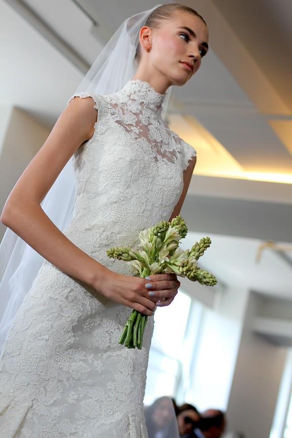 Oscar de la Renta Bridal 2013 80