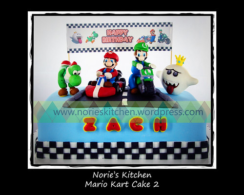 Norie's Kitchen - Mario Kart Cake 2 by Norie's Kitchen