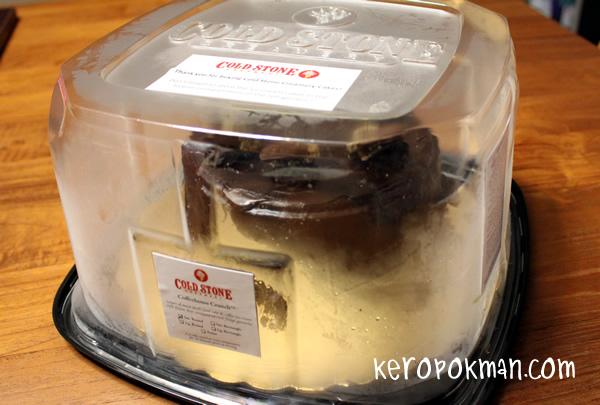 Cold Stone Cremery - Ice Cream Cake