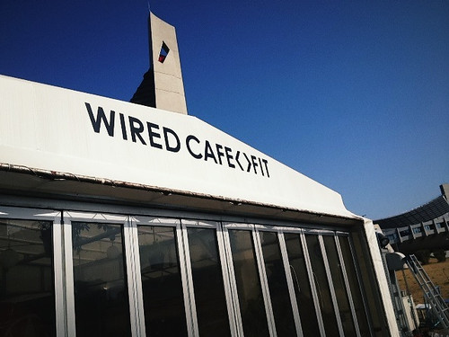 WIRED CAFE <> FIT 代々木公園店