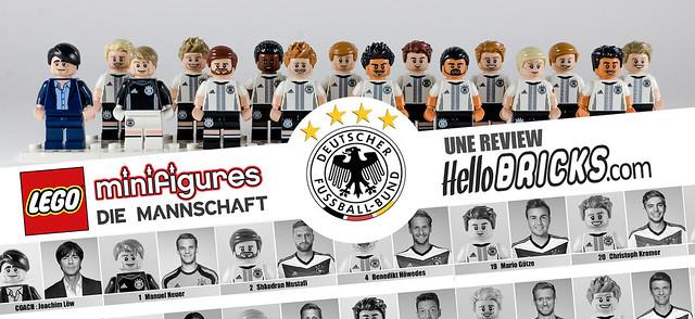 REVIEW LEGO 71014 Die Mannschaft - HelloBricks