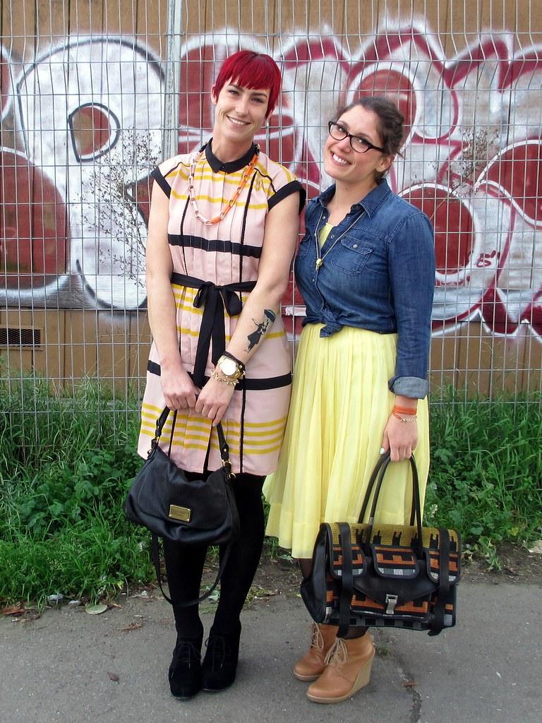 Santina & Jenn. They only LOOK sweet. ;)