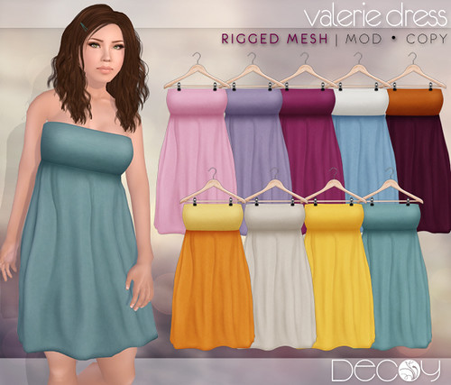Valerie Dress by Decoy @ The Deck
