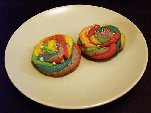 Unicorn Poop Cookie