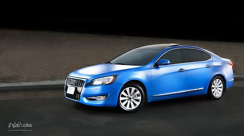 Blue car by Saeed al alawi
