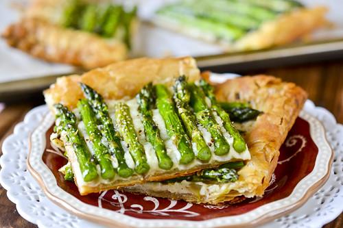 Asparagus & Gruyere Tart 1