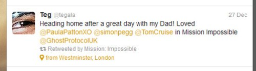 Ghost Protocol UK Twitter Feed