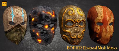 BOTHER.Elemental Mesh Masks