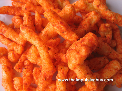 Cheetos Crunchy Salsa Con Queso Closeup