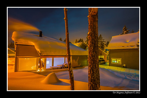 My house in Kongsberg-1 by Tor Magnus Anfinsen