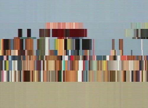 Piero Chiariello, Camminare su una spiaggia abruzzese (10 linee orizzontali), 1'06'', 2011 (5)