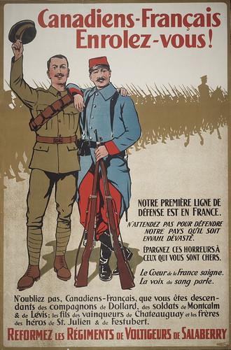 Canadiens-français enrolez-vous!