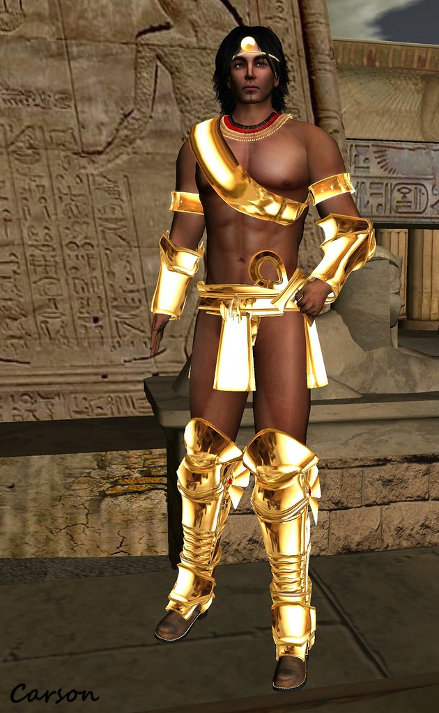 SHADE Designs - Ra, Drakke Designs - Ra Heavy Plated Boots and Bracers