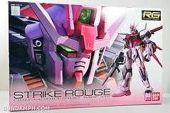 RG 1-144 Strike Rouge Gundam Plamodel EXPO Limited Version Unboxing Photos (1)