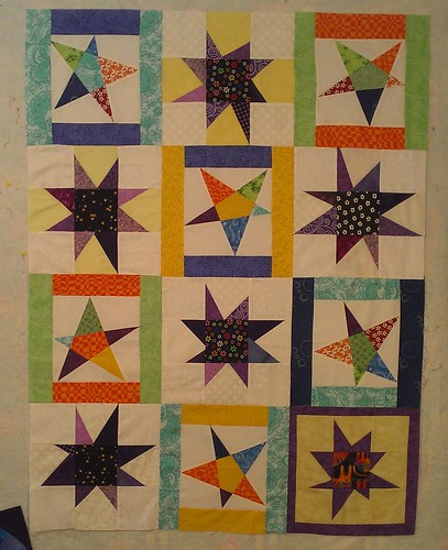 Stars for Linus, pieced