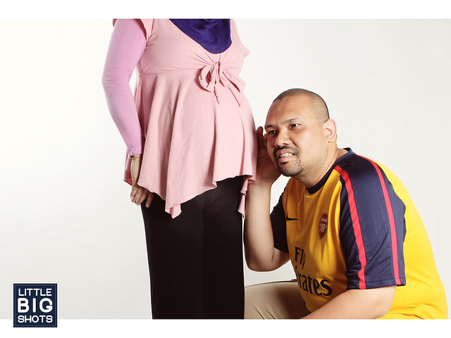 Bun in the Oven | Maternity Studio Portraiture