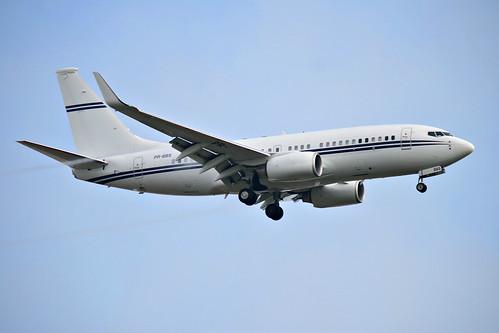 Boeing BBJ1 (737-700) @ SBGR